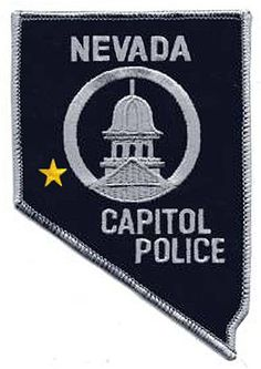 Nevada Capitol Police Patch