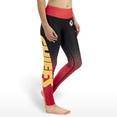 LOVE LOVE LOVE!!! Kansas City Chiefs yoga/running pants