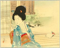 Toshikata_Mizuno-No_Series-Beauty_and_Cat_on_Balcony-00040784-070721-F12.jpg (JPEG Image, 1200 × 967 pixels) - Scaled (92%)