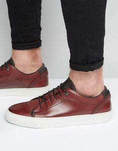Discover our men's shoes with ASOS. Our range of men's footwear includes trendy loafers, casual shoes, sneakers, plimsolls and many more on trend styles. Leather Trainers, Leather Sneakers, Foot Pads, Sneakers Fashion, Ted Baker, Casual Shoes, Men's Shoes, Fashion Online, Asos