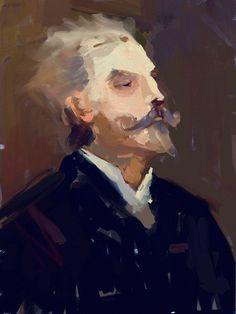 by rainart  Uncategorised  Portrait-created using artrage software