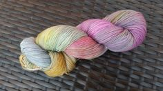 Oh clouds, unfold: hand painted merino/nylon sock yarn Sock Yarn, Merino Wool, Things That Bounce, Cool Stuff, Stuff To Buy, Etsy Seller, Hand Painted, Clouds, Throw Pillows