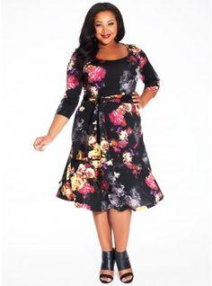 Taryn Dress in Scarlett Dahlia