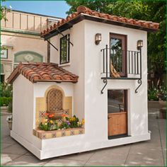 Kids design ideas, pictures, tags and decor - Kids Playhouse Ideas - Cubby Houses, Dog Houses, Play Houses, Petits Cottages, Build A Playhouse, Indoor Playhouse, Tiny House Design, Little Houses, Kids House