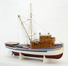 Model Boat by aspirecreations777 on Etsy, $137.00
