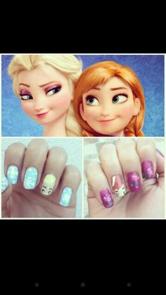 Elsa and Anna #Frozen