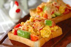 一人暮らし応援! 朝食を抜かない人のトーストレシピ集のまとめ - 簡単プロの料理レシピ | E・レシピ