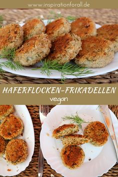 Haferflocken-Frikadellen vegan – einfaches Rezept mit wenig Zutaten The oatmeal meatballs are vegan, juicy and crispy at the same time. After the simple recipe, you can quickly prepare the vegetarian oatmeal meatballs yourself. Easy Soup Recipes, Lunch Recipes, Vegetarian Recipes, Healthy Recipes, Recipes With Few Ingredients, Vegetarian Lunch, Clean Eating Recipes, Healthy Snacks, Easy Meals