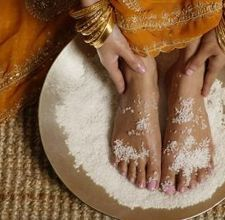 Salt Scrub for hands and feet