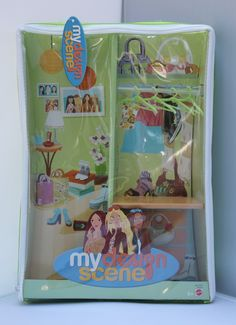 My Design Scene Closet With Hangers Bag Doll Case Barbie for sale online Barbies For Sale, Disney Characters Costumes, Liv Dolls, Portable Closet, Doll Carrier, Barbie Accessories, Barbie Dolls, Toy Chest, The Balm