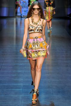 D&G Spring 2012 Ready-to-Wear Collection Photos - Vogue