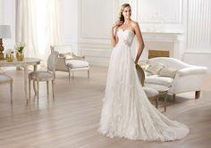 Pronovias presents the Orera wedding dress. Fashion 2014. | Pronovias