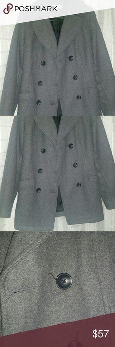 Pea Coat A wool blend                                                                 Never worn! ❌no trades m Jackets & Coats Pea Coats