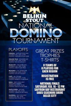 Belikin Domino Tournament in Cayo