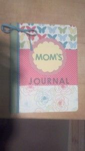 mom journal for a new mom gift