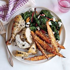 Italian Roasted Chicken | MyRecipes.com