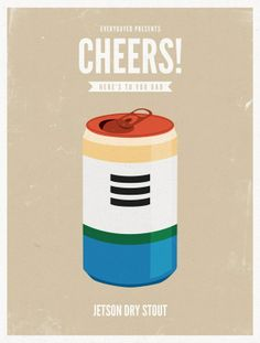 creatividads | Cheers! Cartoons Beer.
