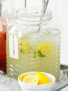 1cup countrytime lemonade mix + 2 cups cold water + 1 can chilled pineapple juice (46 oz) + 2 cans chilled sprite = amazing