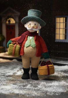 Grandpa Jolly by Alan Dart – knitted in Hayfield, Bonus DK