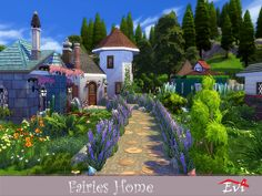Maybe for gnomes maybe for fairies maybe for sims in fairy tales! Found in TSR Category 'Sims 4 Residential Lots'