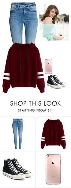 """""""-Leah"""" by anonroleplay ❤ liked on Polyvore featuring Converse"""