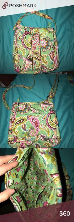Light green crossover Vera Bradley Light green Vera Bradley crossover purse. Vera Bradley Bags Crossbody Bags