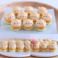 Cute Snacks, Cute Desserts, Dorayaki Receta, Japanese Food Art, Cute Baking, Fun Baking Recipes, Tiny Food, Cafe Food, Miniature Food