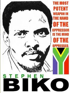 Today in History: On September anti-apartheid activist, Steve Biko, died while in police custody in South Africa. Biko had been a leader in the black consciousness movement in South Africa,. Steve Biko, Native American Images, Apartheid, Today In History, African Tribes, Freedom Fighters, African History, African Beauty, Mottos