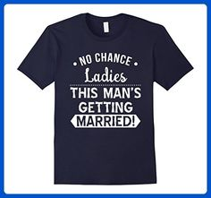 Mens This Mans Getting Married Stag Party Shirt for the Groom Small Navy - Wedding shirts (*Amazon Partner-Link)