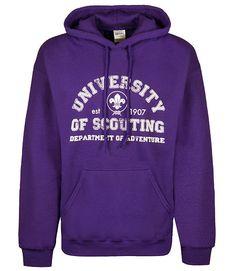 University of Scouting Adventure Hoodie
