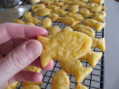 Gluten Free in Montana: Gold Fish Crackers Recipe, Gluten Free