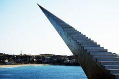 stairs, infinit staircas, david mccracken, australia, staircase design, art sculptures, artist, stairways, heavens