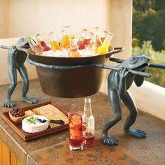 Frog Beverage Tub