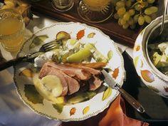 Schweineschulter mit Senfsoße - smarter - Zeit: 25 Min. | eatsmarter.de