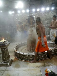 Bhasma Aarti at Mahakaal, Ujjain on 11th Nov 2016