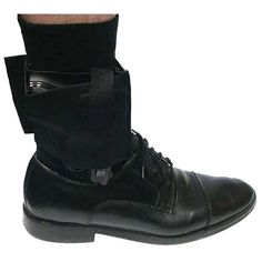 Concealed Universal Black Carry Ankle Leg Pistol Gun Holster Hunting Accessories.