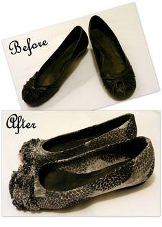 Mod Podge Shoes