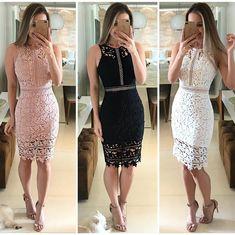 Lace Outfit, Dress Outfits, Lace Dress, Dress Skirt, Bodycon Dress, Fashion Outfits, Grad Dresses, Short Dresses, Brunch Dress
