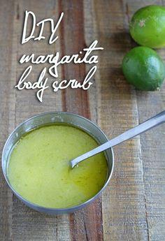 DIY Margarita Body Scrub: 3 simple kitchen ingredients for softer skin!