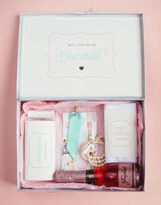 A creative Bridesmaid gift!