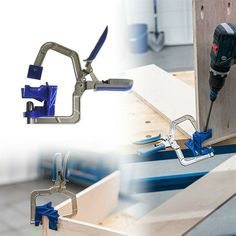 90 Degree Right Angle Woodworking Clamp Frame Corner Clip Hand Tools – oncetwo