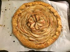 Apple Galette - brown butter and sea salt. Yummy!!