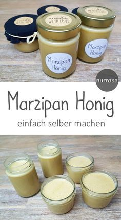 Make marzipan honey yourself A great recipe for a quick gift from the kitchen. Delicious Make marzipan honey yourself A great recipe for a quick gift from the kitchen. How To Make Your Own Recipe, Food To Make, Snack Recipes, Dessert Recipes, Pumpkin Spice Cupcakes, Cream Recipes, Baking Ingredients, Guacamole, Eat Cake