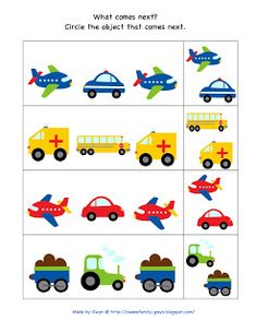 Preschool Printables: Automobile