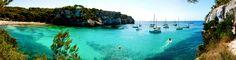 Miguel Angel SGR posted a photo:  Panorámica de Cala Macarella¡, una de las calas más bellas de la costa sur de Menorca:  (Reeditada)  Menorca - Islas Baleares - España / Spain.
