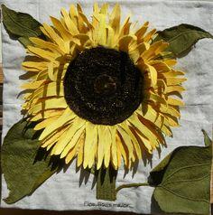 Caroline Higgs - Copper Plate Sunflower