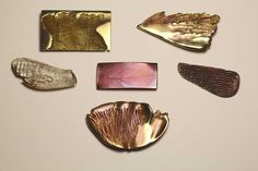 "A series of brooches ""Wings"""