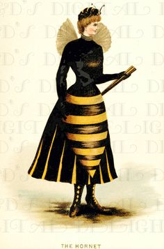 RARE. The HORNET. Bumble Bee Costume. by DandDDigitalDelights