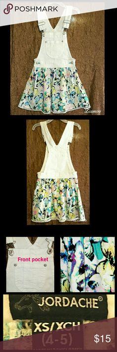Girls multi color dress Cute Jordache girls multi color dress, beautiful bold colors. Jordache  Dresses Casual
