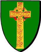 Plouigneau : de sinople, à la croix celtique d'or * Plouignio : geotet, e groaz keltiek e aour